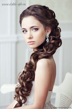 Wedding hair and makeup inspiration. This look will look perfect with ESQIDO BFF lashes. So soft and romantic.
