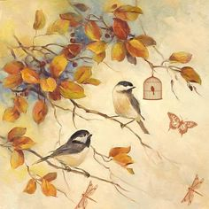 Decoupage Images: Birds  -- lots of nice items