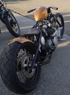 Bobber Inspiration | XS650 custom bobber | Bobbers and Custom Motorcycles