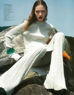 Elle Japan September 2014, Kasia Jujeczka