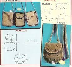 Resultado de imagen para moldes y patrones de bolsos y carteras gratis