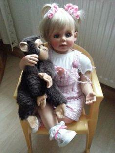 Durch Platzgründen muss ich mich leider von einigen Puppen trennen. Ich biete hier die Mia von...,Gerlinde Feser Sammlerpuppe Mia in Bayern - Vilshofen an der Donau