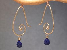Nouveau 36 Hammered swirl shapes with your by CalicoJunoJewelry, $54.00