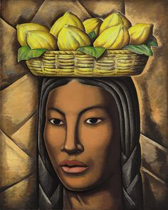 1936 La India by Alfredo Ramos Martinez (Mexican; Latin Artists, Mexican Artists, Mexican Folk Art, Oil Painting Reproductions, Diego Rivera, Oeuvre D'art, Sculpture, American Art, Latina