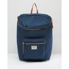 Sandqvist Tobias Cordura Backpack In Blue (255 CAD) ❤ liked on Polyvore featuring bags, backpacks, blue, padded laptop backpack, strap backpack, padded laptop bag, laptop bags and nylon backpack