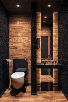 Washroom Design, Toilet Design, Bathroom Design Luxury, Modern Bathroom Decor, Modern Bathroom Design, Modern House Design, Modern Houses, Design Kitchen, Bathroom Ideas