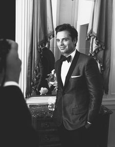 OH my mother of holy hell | I'm literally crying | and i might have already pinned this picture | I don't even know | I love him so much | according to my mother i am overreacting | Sebastian Stan | Yes.