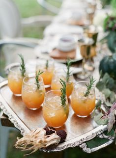 Greet your Thanksgiving guests at the door with one of these signature cocktails including the Ginger Beet Martini, Apple Rosemary Bourbon or a Pear Bellini and they will be all smiles. Bourbon Cocktails, Holiday Cocktails, Cocktail Recipes, Cocktail Ideas, Champagne Margaritas, Disney Cocktails, Thanksgiving Cocktails, Thanksgiving Tablescapes, Tequila Sunrise