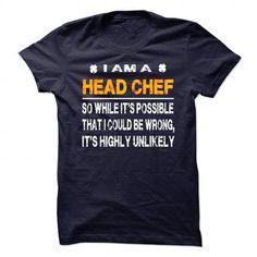 I Am A Head Chef St Patricks Day T Shirts, Hoodies. Check price ==► https://www.sunfrog.com/Geek-Tech/I-Am-A-Head-Chef--St-Patricks-Day.html?41382