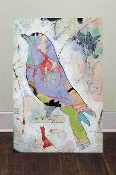 Artist: Judy Paul, Prints of Originals for sale Large Canvas Prints, Canvas Art, Art Journal Inspiration, Painting Inspiration, Art Altéré, Art Plastique, Bird Art, Oeuvre D'art, Art Techniques