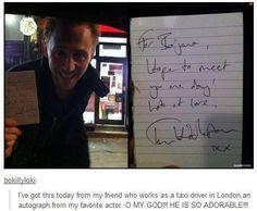 Tom Hiddleston, everyone.