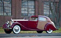 Vintage Cars Classic 1937 Rolls-Royce Phantom III Sedanca de Ville by Park Ward Bentley Rolls Royce, Rolls Royce Cars, Rolls Royce Phantom, Hot Rods, Retro Cars, Vintage Cars, Bmw, Jaguar, Classic Rolls Royce