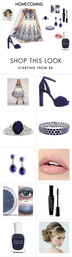 """beatuifully simple"" by tluebke on Polyvore featuring Stuart Weitzman, Amour, Bourjois and Deborah Lippmann"