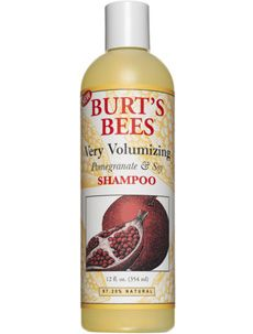 Burt's Bees Very Volumizing Pomegranate & Soy Shampoo & Conditioner. All Time Favorite. Good Shampoo And Conditioner, Mild Shampoo, Hair Shampoo, Burt's Bees Pomegranate, 50 Hair, Best Shampoos, Hair Hacks, Hair Tips, Facial Scrubs