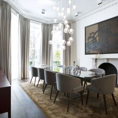 8 bedroom detached house for sale in Pembridge Square, Notting Hill, London, Wide Plank Flooring, Engineered Wood Floors, Wood Flooring, Reception Rooms, Detached House, Interior And Exterior, Property For Sale, Architecture Design, Modern Design