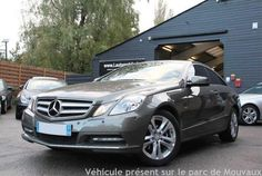 OCCASION MERCEDES CLASSE E IV COUPE 220 CDI BLUEEFICIENCY