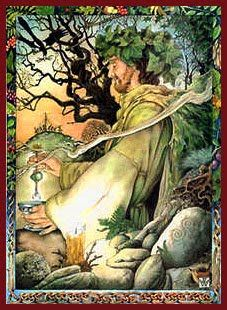 Druids Trees:  #Oak King, Will Worthington.