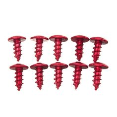 10pcs M5 Screws Modified Thread Titanium Alloy Bolt For ATVs Scooters Motorcycles Bikes