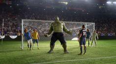 The Hulk. 2014 FIFA World Cup Soccer Brazil. Nike Risk Everything.