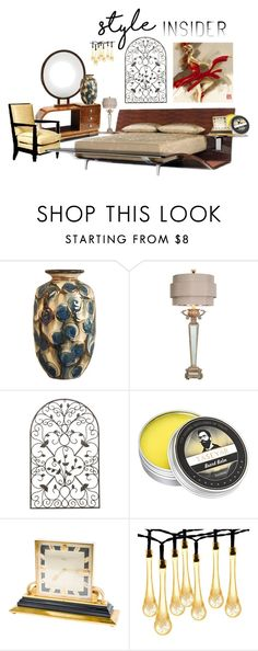 """""""Style Insider"""" by ioakleaf on Polyvore featuring interior, interiors, interior design, home, home decor, interior decorating, Kähler, Couture Lamps and WALL"""