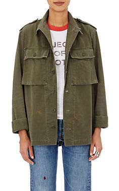 We Adore: The Herringbone Field Shirt from Icons at Barneys New York