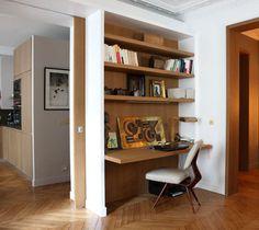 6. Le prolongement d'un meuble comme bureau