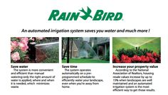 Rainbird Sprinkler Systems offer great water saving usage with design and installation in Kansas City with Heritage Lawns and Irrigation.