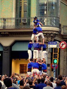 Castells Barcelona
