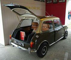 . Classic Mini, Classic Cars, Coach Builders, Mini Monster, Weird Cars, Love Car, Mk1, Mini Me, Jaguar