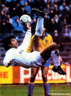 ..._Hugo Sanchez. Real Madrid