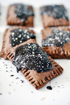 Homemade Chocolate Poptarts | lark & linen