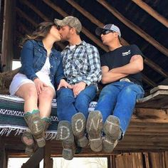 When your best friend insists on being in your engagement pictures...#engagementphoto #lifefactquotes #countrythang #countrythangquotes #countryquotes #countrysayings