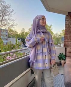 Modest Fashion Hijab, Modern Hijab Fashion, Street Hijab Fashion, Hijab Fashion Inspiration, Muslim Fashion, Mode Inspiration, Fashion Dresses, Hijab Casual, Hijab Outfit