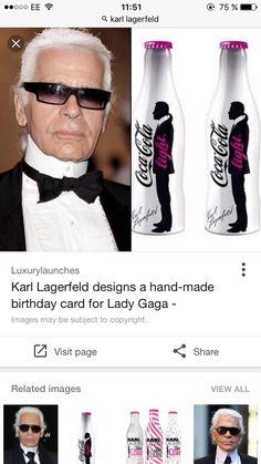 Lady Gaga Images, Karl Lagerfeld, Birthday Cards, Chanel, Handmade, Fashion, Bday Cards, Hand Made, Moda