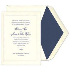 String of Pearls Invitations - William Arthur