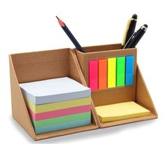 Memo note cube refills are designed to fit right into our note cube. Memo cube refills are perfect for home or office Diy Crafts For Home Decor, Diy Crafts To Do, Craft Stick Crafts, Diy Cardboard Furniture, Cardboard Crafts, Stationary Organization, Desk Organization, Diy Para A Casa, Ideias Diy
