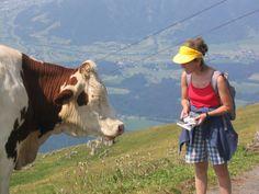 Austria, tentativo di chiedere informazioni su un sentiero di montagna