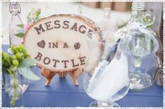 Inspirations, Nautical Guest Books: Nautical wedding themes by Photography Tiny scrolls of paper to be put in a giant glass bottle with a cork? As wedding notes and advice. Blue Beach Wedding, Nautical Wedding Theme, Wedding Themes, Wedding Ideas, Pirate Wedding, Nautical Party, Wedding Notes, Key West Wedding, Wedding Stuff