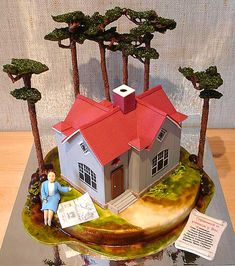 Congratulations, you bought a house cake!