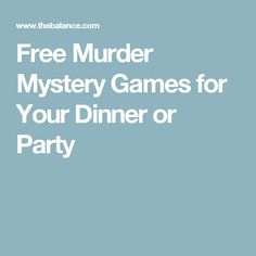 Free murder mystery games that are perfect for a murder mystery party or dinner. Includes printable scripts, biographies, evidence, and clues. Murder Mystery Script, Murder Mystery Games, Murder Mysteries, Mystery Novels, Cozy Mysteries, Mystery Dinner Theater, Mystery Dinner Party, Mystery Parties, Dinner Theatre