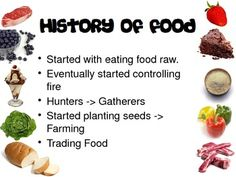 """""""Why We Eat"""" Culinary Arts Nutrition Foods Family and Cons"""