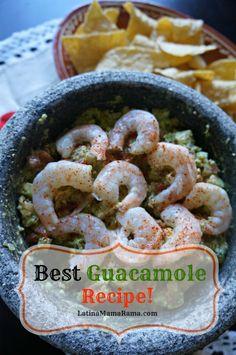 The best guacamole recipe ever!