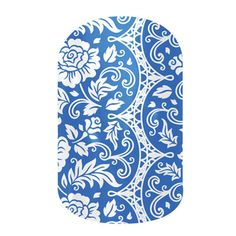 Porcelain  nail wraps by Jamberry Nails