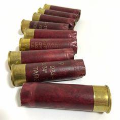 Red Shotgun Shells 12GA Federal Gold Medal Paper Hulls 12 Gauge – Craft Supplies Depot