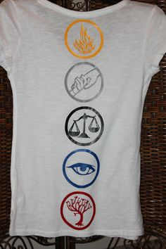 Divergent Inspired Tshirt with 5 factions Divergent Outfits, Fandom Outfits, Divergent Trilogy, Divergent Insurgent Allegiant, Name Writing, Writing Tips, Cool Shirts, Tee Shirts, I Get Money