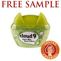 Free Sample of Cloud 9 Cat Treats. Re-pin this one so friends can claim one too!