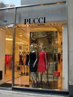 Beautiful Window Displays!: pucci
