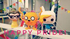 Glædelig pride dag! #geekd #geeky #geek #pride #copenhagenpride #funko #funkopop #adventuretime #fionnaadventuretime #disney