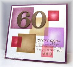 WT416 Color Block Birthday by bfinlay - Cards and Paper Crafts at Splitcoaststampers