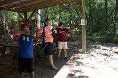 Archery! Camp Victory (Alabama) campvictoryal.org summer camp